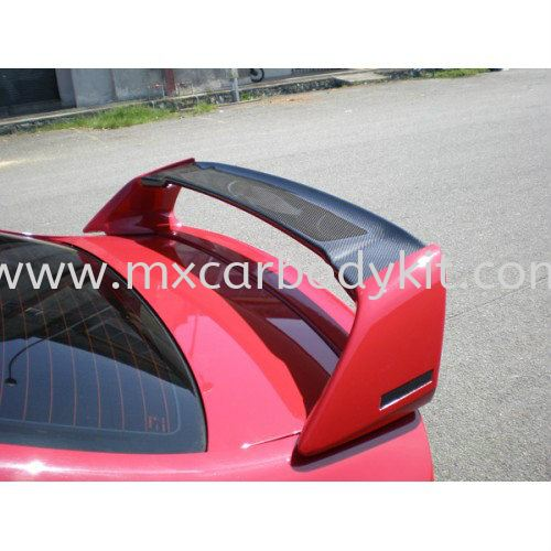 HONDA CIVIC ADVANCE RR SPOILER CARBON FIBRE HONDA CIVIC CARBON FIBER BODY KITS