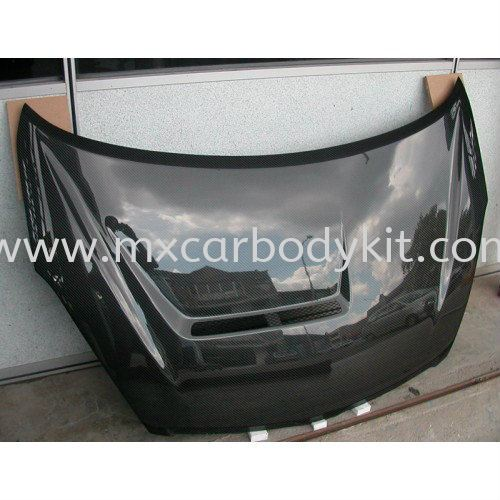 TOYOTA WISH BONNET CARBON FIBRE TOYOTA WISH CARBON FIBER BODY KITS