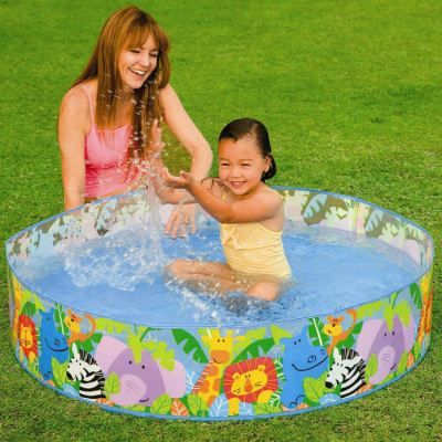 "INTEX JUNGLE BABY SNAPSET POOL 4FTX10""(58474)"