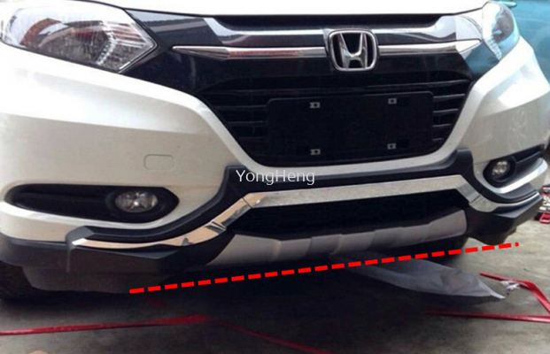 front bumper Chrome Guard
