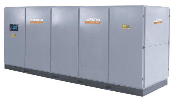 LE-LG Series (Big Capacity Models) Rotary Screw Air Compressor Airkom