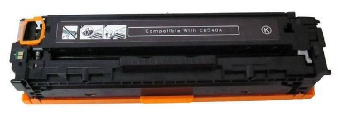 BUSINESS CLASS 125A BLACK LASERJET TONER CARTRIDGE (CB540A) - COMPATIBLE TO HP PRINTER COLOR LASERJE