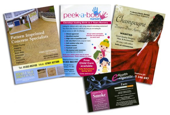 Flyers / Leaflets / Tags Printing