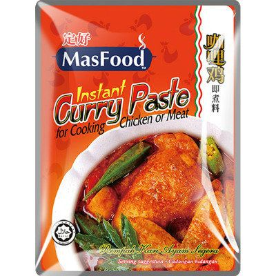 MasFood Instant Curry Chicken Paste