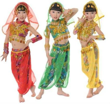 Kid Arabian / Indian Dance Full Sets 3001 0201