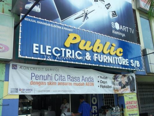 Public LED signage