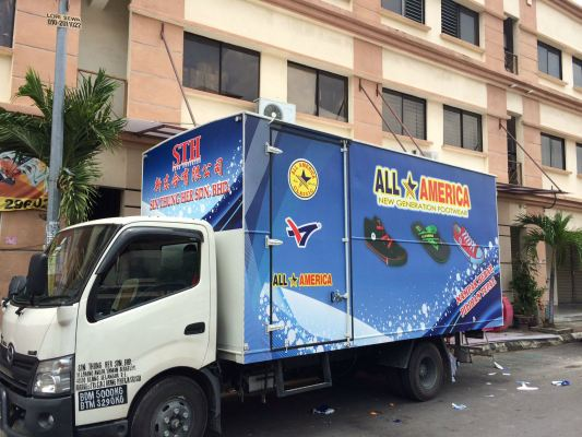 All America Lorry - Kapar Klang