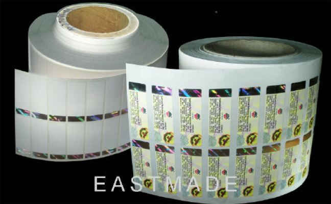 Hot Stamped Labels