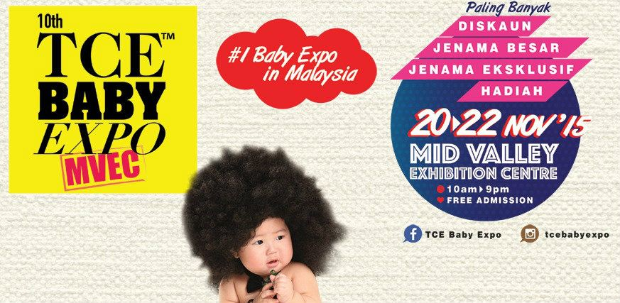 10th TCE Baby Expo November 2015 Year 2015 Past Listing