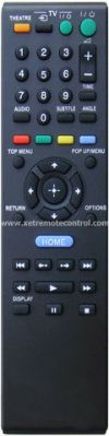 RMT-D104P SONY BLU-RAY DVD REMOTE CONTROL SONY  DVD REMOTE CONTROL