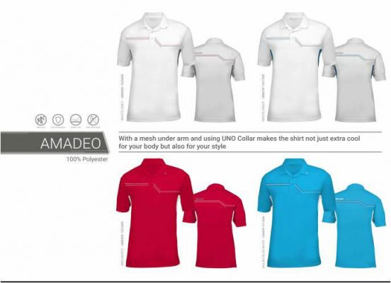 Amadeo Golf Apparels