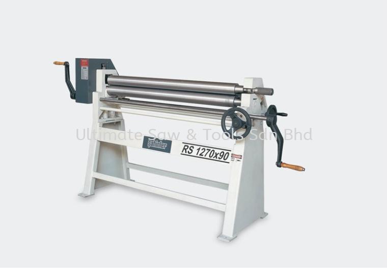 RS - 3 Rolls Manual Plate Bending Machine Manual Slip Roll Machine Plate Bending Machines