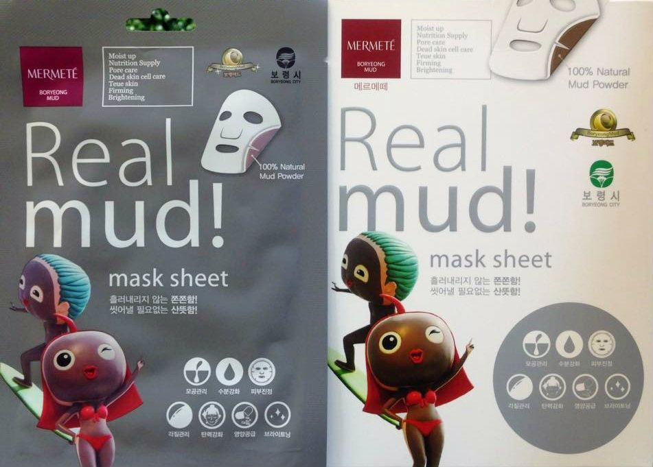 Real Mud Mask  New Arrival Distributor, Supplier, Exporter, Supplies  ~ Boryeong Mud Malaysia Sdn Bhd