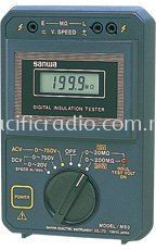 Sanwa M53 Insulation Testers��For elevator maintenance