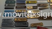 name tag made of Gold /Silver/Black laminate colour plate  Material