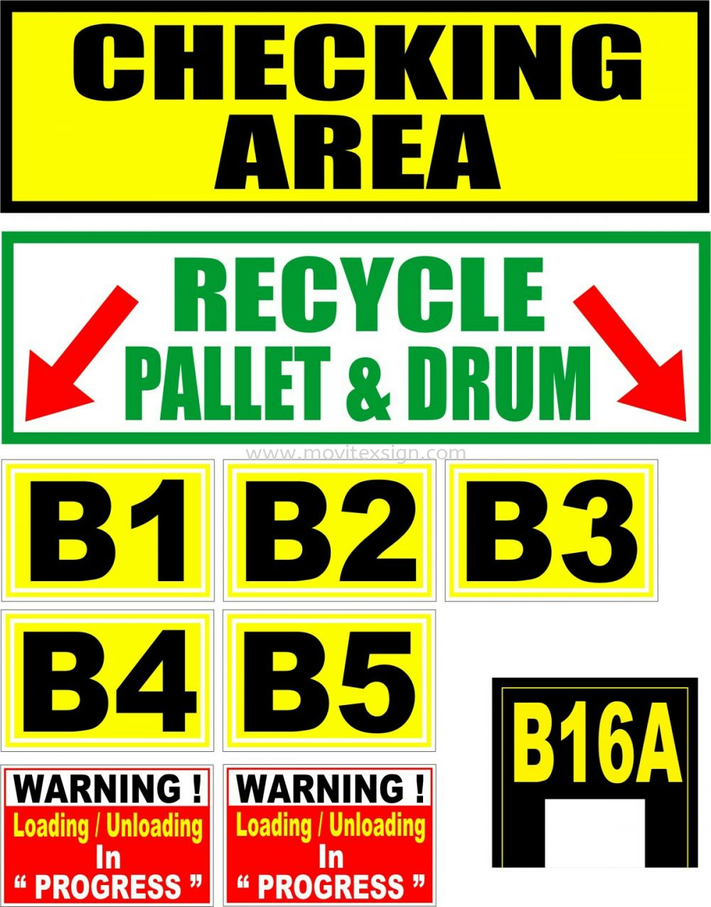 Productions n Bar codding sign/Storrage area  Safety Sign Sample Industry Safety Sign and Symbols Image Johor Bahru (JB), Johor, Malaysia. Design, Supplier, Manufacturers, Suppliers   M-Movitexsign Advertising Art & Print Sdn Bhd