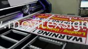 WARNING Sign....in massive products UV printer ink that last n warranty  2 years  or request  for more extra coating up 4 years n above! Safety Sign Sample Industry Safety Sign and Symbols Image