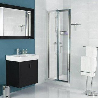 Haven Bi-Fold Door Shower Enclosure Haven Shower Screen