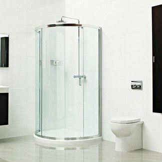 Lumin8 Bow Fronted Quadrant Shower Enclosure