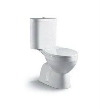 2 Pieces WCs C-100S / C-100P Zella Water Closet