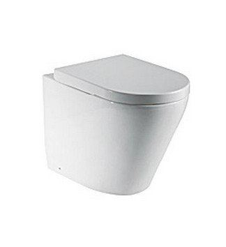 Back-to-wall Pedestal WCs C-206P Zella Water Closet
