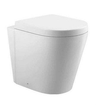 Back-to-wall Pedestal WCs C-207P Zella Water Closet