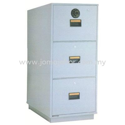 LION 3 Drawer Fire Resistant Cabinet RP3 Lion Safety Box