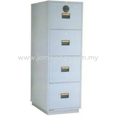 LION 4 Drawer Fire Resistant Cabinet RP4 Lion Safety Box