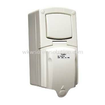 13A Surface Mount Single Pole Switches Socket Outlet