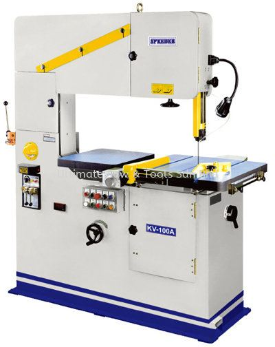 KV-100A Vertical Bandsaw Machine (Table Auto Feed Assembled) Vertical Bandsaw Machine