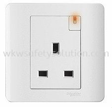 13A 1 Gang Switch Socket Outlet With Ondicator