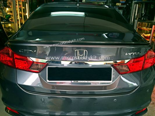 HONDA CITY 2014 CARBON FIBER TRUNK SPOILER