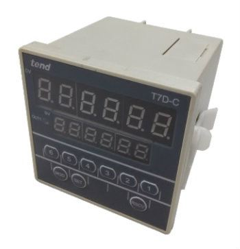 72 X 72mm DIGITAL COUNTER Malaysia Singapore Thailand Indonesia Philippines Vietnam Europe USA - TEND T7D-C