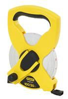 """34-791 - 30m/100' x 1/2"""" Stanley® Fiberglass Long Tape (Metric/English Scale) Measuring / Layout Tools Stanley"""