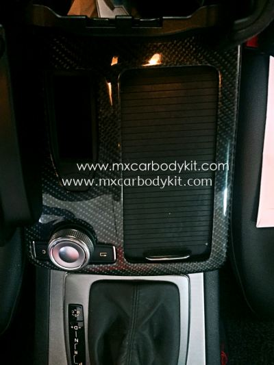 MERCEDES BENZ W204 CENTRE CONSOLE PANEL CARBON FIBER
