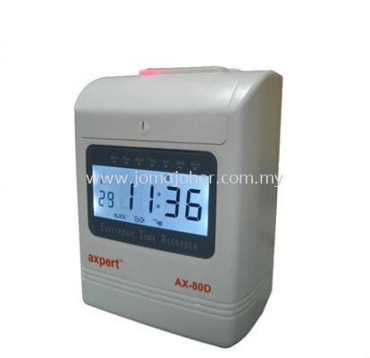 AX-80D Micro Computer Digital Time Recorder