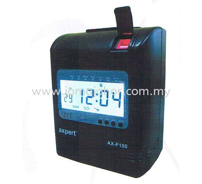 AX-F100 Finger Print Time Recorder Axpert Time Recorder