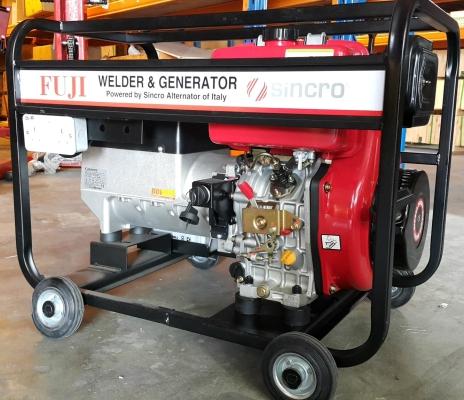 Italy Fuji ED200MDC Welder & Generator LAUNTOP LA186 Diesel Engine ID888288