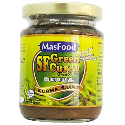 MasFood SF Green Curry Sauce