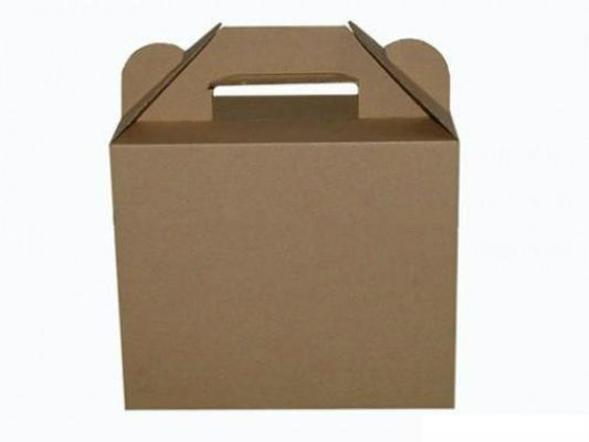 Corrugated Die-Cut Box w Handle Slot