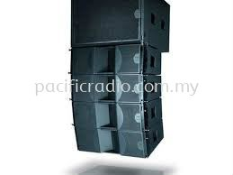 "SE Audiotechnik V-L8 / V-LPS215B Dual 8"" Two Way Line Array Speaker"