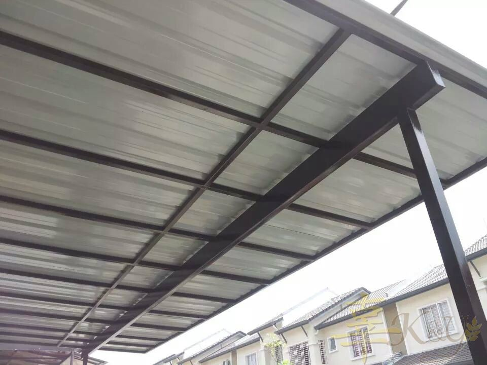 Mild Steel Metal Deck Awning Design Skylight Mild Steel Metal Deck Awning Awning Selangor Malaysia Kuala Lumpur Kl Semenyih Service Contractor Supplier Supply K Y Awning Renovation