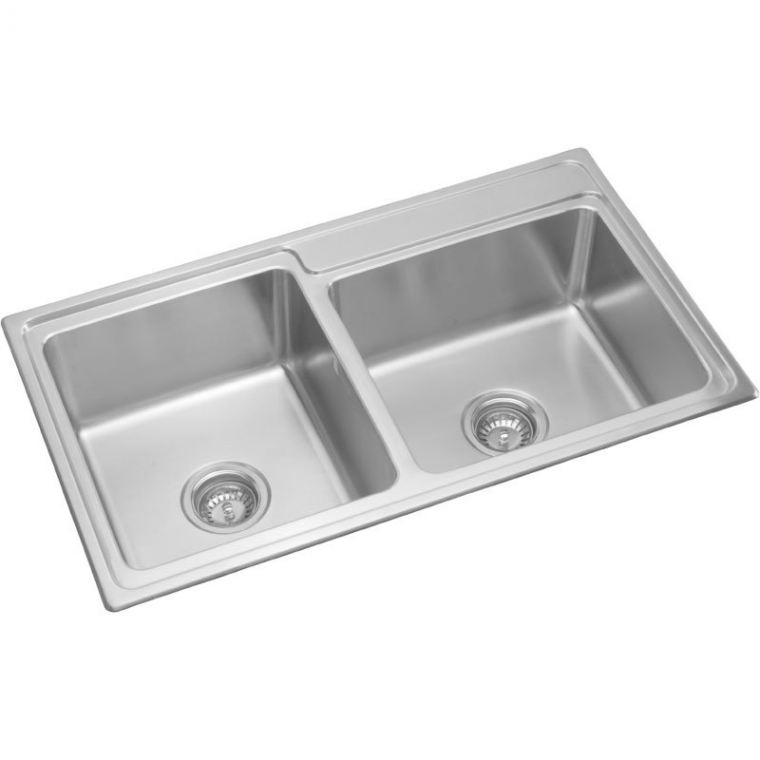 CLX860-86 Rubine Stainless Steel Top Mount Sink