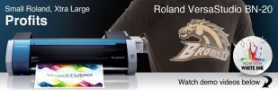 BN-20 Desktop Inkjet Printer / Cutter Print and Cut Printers ROLAND