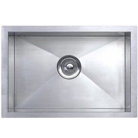 SQ 103 UM Rubine Stainless Steel Under Mount Sink