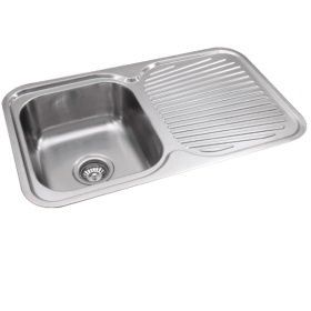 SLX-611 Rubine Stainless Steel Top Mount Sink