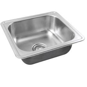 SLX-610 Rubine Stainless Steel Top Mount Sink