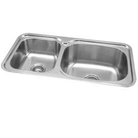 RGX-620 Rubine Stainless Steel Top Mount Sink