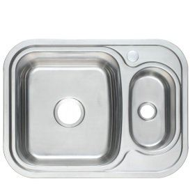 PRX-650 Rubine Stainless Steel Top Mount Sink