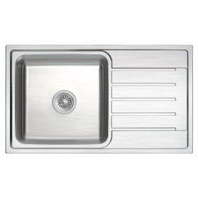 ZEX-811 Rubine Stainless Steel Top Mount Sink